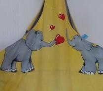 Elefanten-Knoten-Beutel